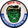 Incredible Hulk President Patch