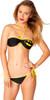 Batman Logo Bandeau String Bikini Swimsuit