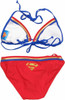 Superman Triangle String Bikini Swimsuit