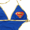 Superman Triangle Monokini Swimsuit