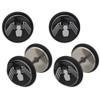 Venom Steel Faux Plug Earrings