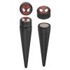 Spiderman Mask Faux Taper Magnetic Earrings