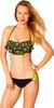 Batman Ruffled Bandeau Hipster Bikini Swimsuit