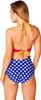 Wonder Woman Halter One Piece Swimsuit