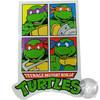 Teenage Mutant Ninja Turtles Quadrant Sticker