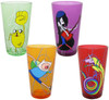 Adventure Time Characters Lines Pint Glass Set