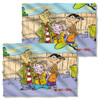 Ed Edd n Eddy Backyard Boys FB Pillow Case