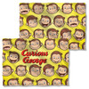 Curious George Heads FB Pillow Case
