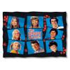 Brady Bunch Squares Pillow Case