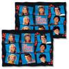 Brady Bunch Squares FB Pillow Case