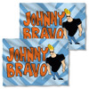 Johnny Bravo Logo FB Pillow Case