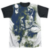 Green Arrow TV Spray Paint BB Sublimated T Shirt