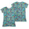Teen Titans Go Jumble FB Sub Juniors T Shirt
