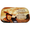 John Wayne Courage Magnet Mini Tin Sign