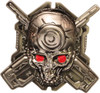 Halo Mythic Map Pack Skull Logo Metal Buckle