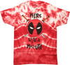 Deadpool Merc with a Mouth Tie Dye MF T-Shirt