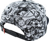 Marvel Black and White Sublimated Snapback Hat