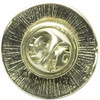 Captain America Shield Logo Metal Pin