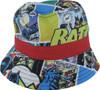Batman Vintage Comic Strip Youth Bucket Hat
