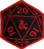 Dungeons and Dragons 20 Sided Die Throw Blanket