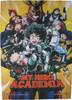 My Hero Academia Manga Cover Fabric Poster