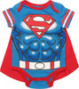 Superman Caped Costume Snap Suit