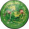 Rick and Morty Portal Jump Green Backpack