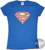 Superman Vintage Baby Tee