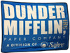 Office Dunder Mifflin Logo Fleece Blanket