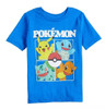 Pokemon First Starters Square Youth T-Shirt