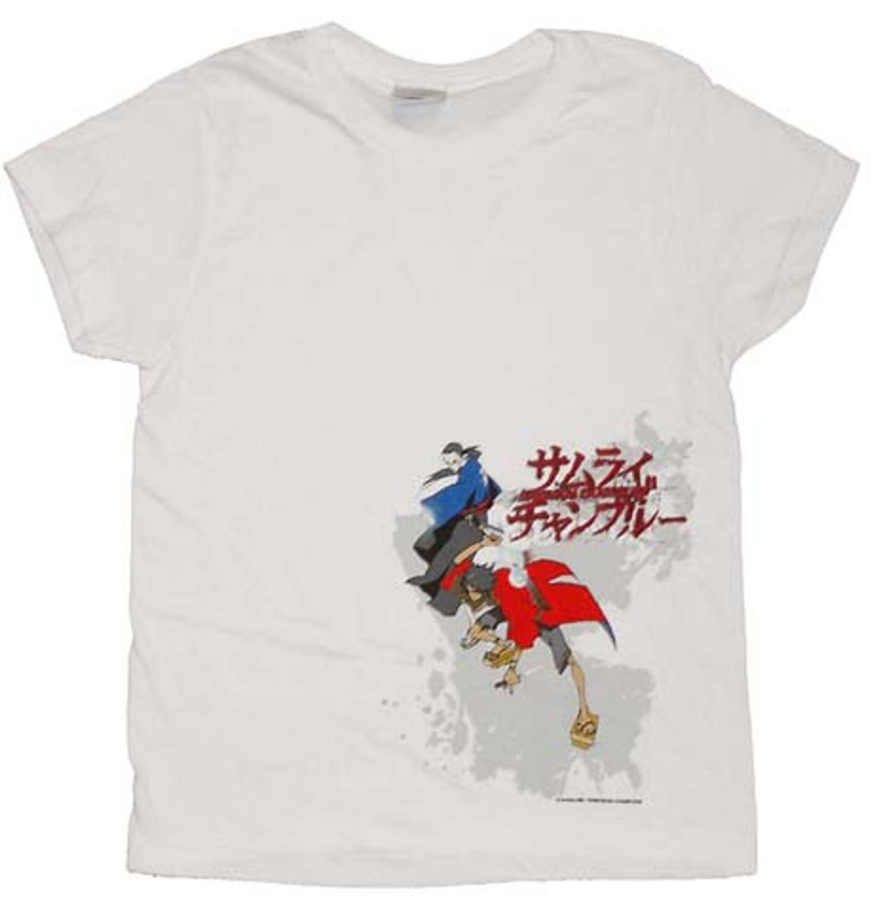 Samurai Champloo Printed Unisex T-Shirts 100/% Cotton A