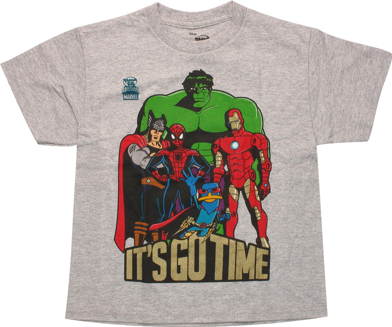 Marvel Hero Time Youth T-Shirt