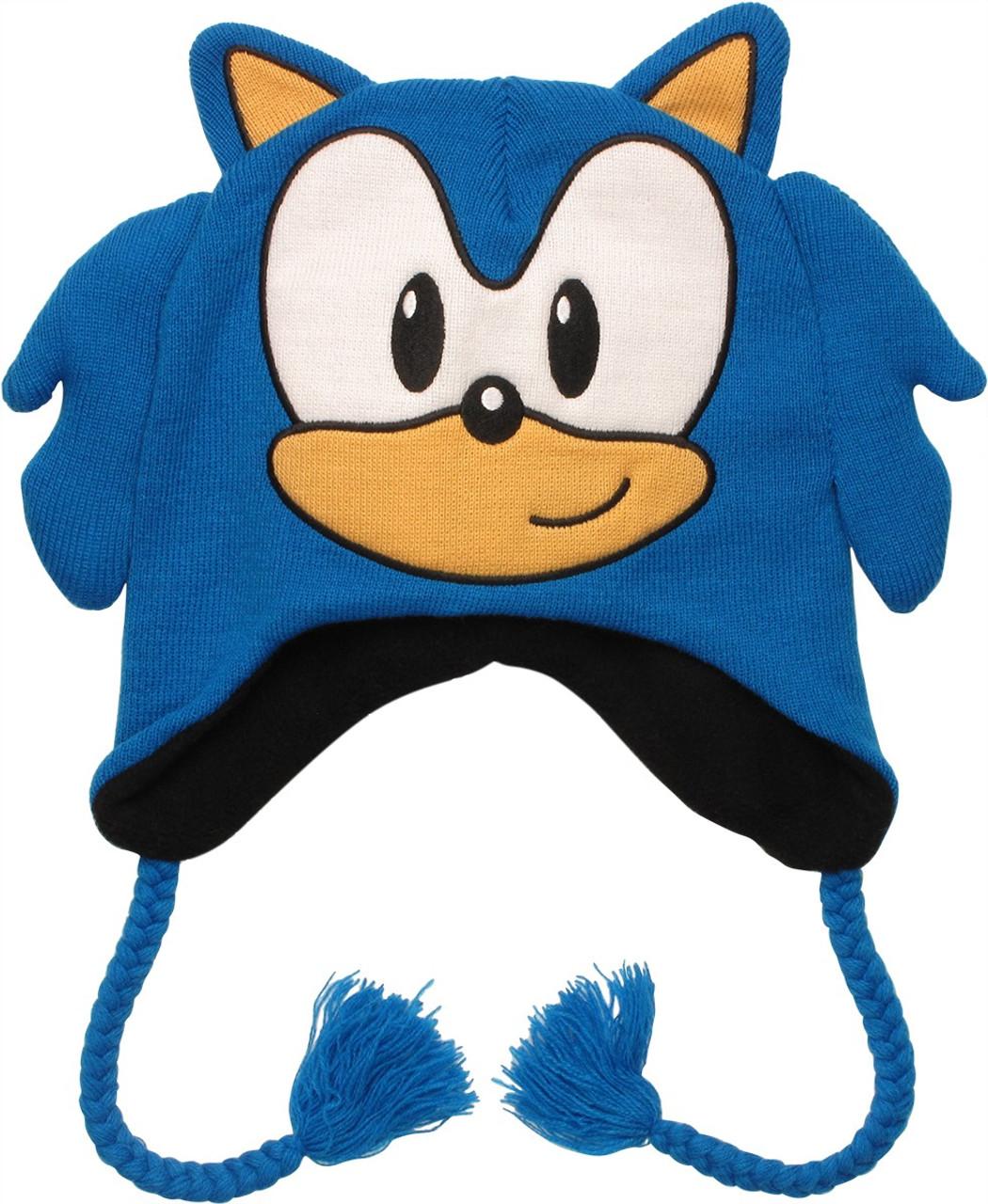 Sonic The Hedgehog Face Lapland Beanie