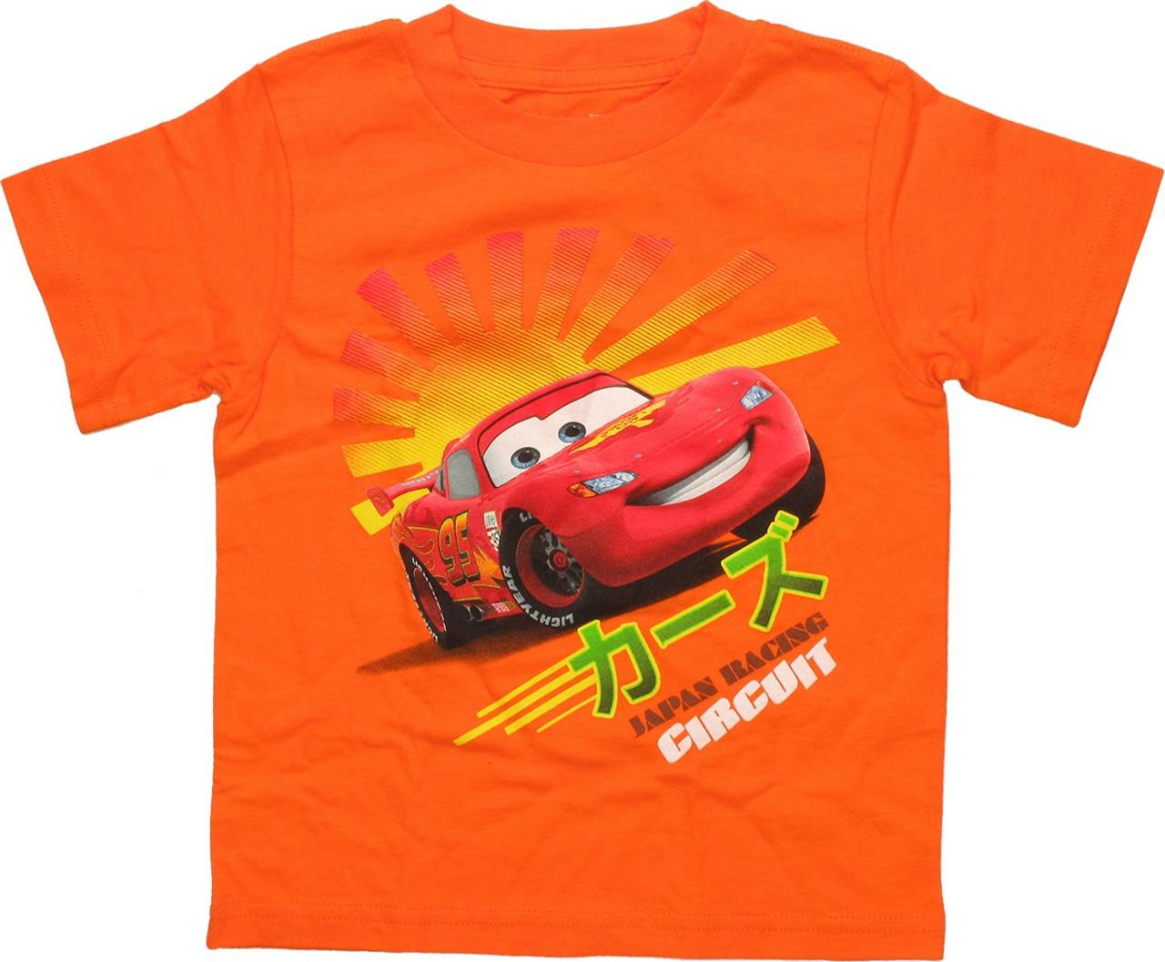 Disney Store Cars 2 Grand Prix Francesco T-Shirt Size 4