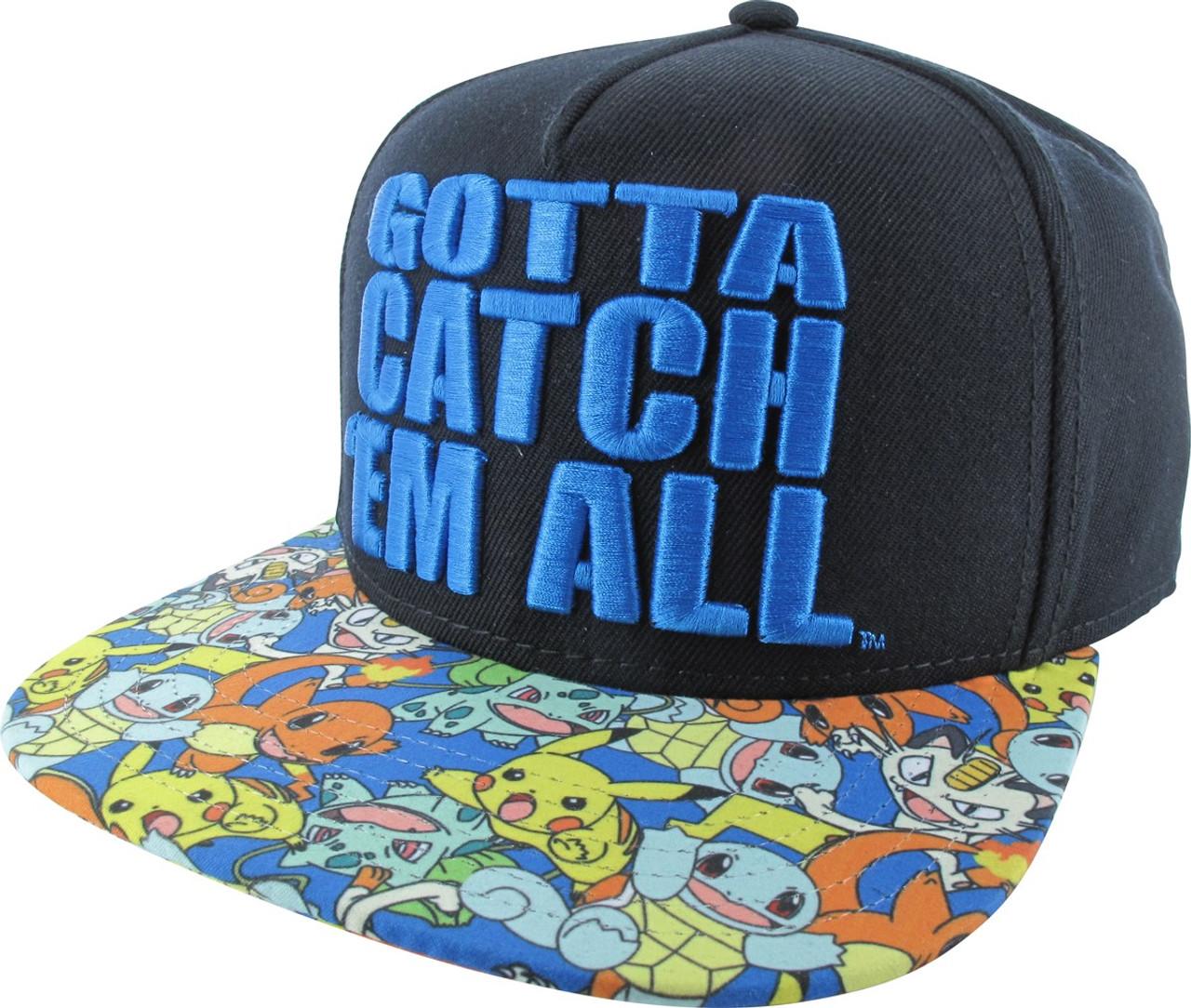 pokemon-catch-em-all-embroidered-snapback-hat -22  18346.1512327300.jpg c 2 imbypass on c513d1df29e7