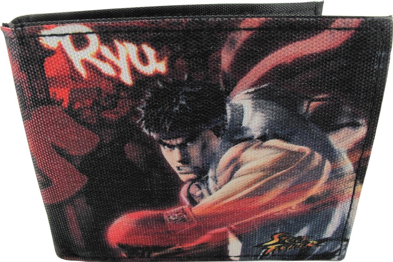 Street Fighter Ryu Vs Akuma Bi Fold Wallet