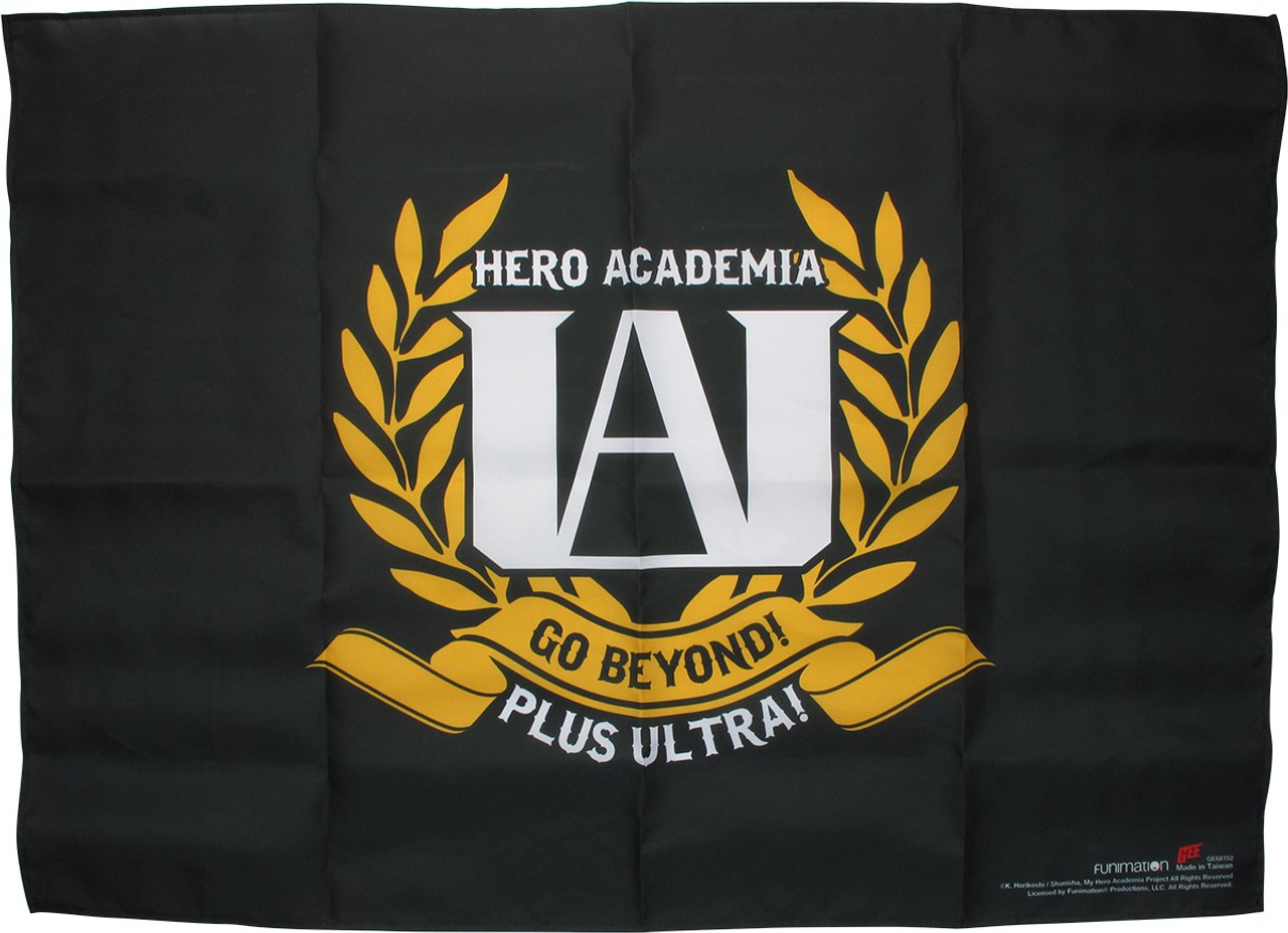My Hero Academia Ua High School Logo Fabric Poster If you enjoy this franchise as much as i do, please do read! my hero academia ua high school logo fabric poster