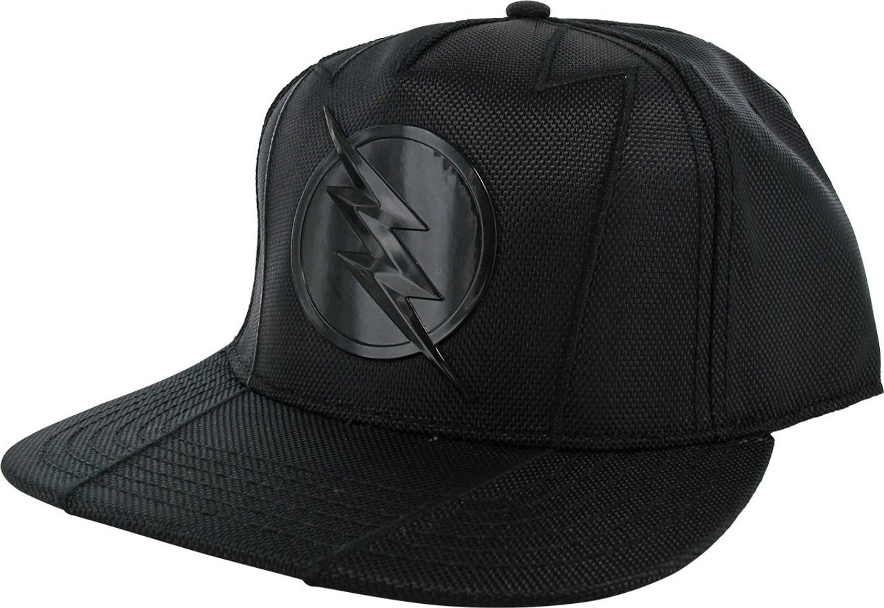 Flash Tv Series Zoom Logo Black Snapback Hat