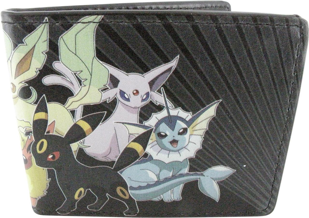 Pokemon Group Bi-Fold Wallet New