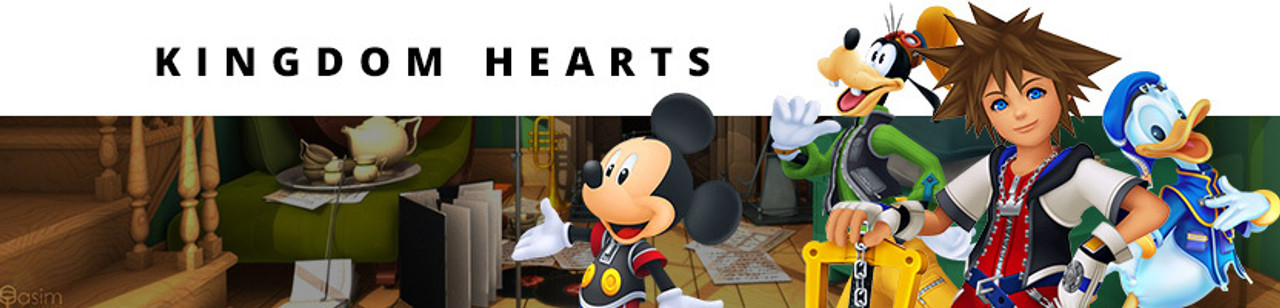 895dbaa24778 Kingdom Hearts T-Shirts, Clothing, & Apparel | Stylin Online