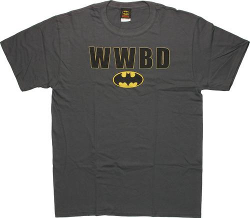 Batman WWBD Logo T-Shirt