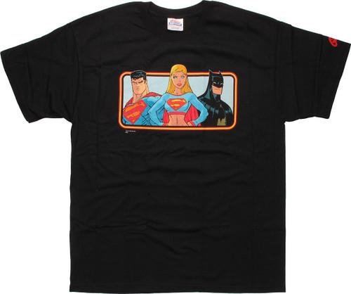 DC Comics Superman Supergirl Batman T-Shirt