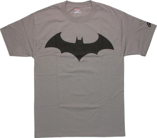 Batman Arkham Suit Symbol T-Shirt