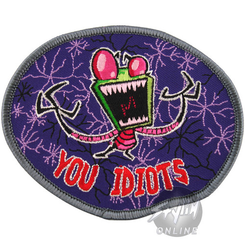 Invader Zim Idiots Patch