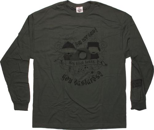 5ddfb657f56 South Park Bastards Long Sleeve T Shirt