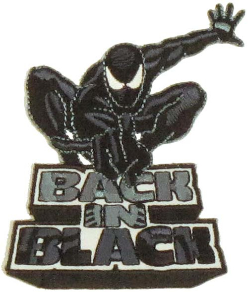Spiderman Back in Black Patch