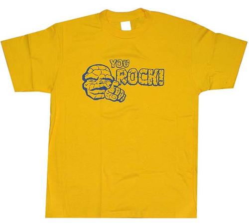 Fantastic Four Thing You Rock T-Shirt