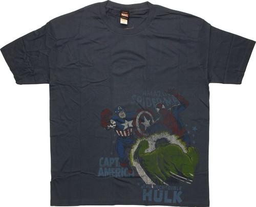 Marvel Group T-Shirt Sheer