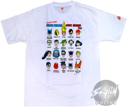 DC Comics Issues T-Shirt