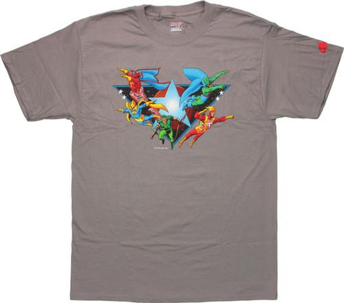 DC Comics Justice League Heroes T-Shirt